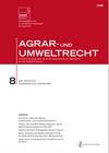 Agrar- und Umweltrecht. AuUR
