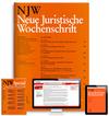Neue Juristische Wochenschrift (NJW) mit NJWDirekt und NJWSpezial (NJWS)