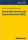 Gesetz über kommunale Zusammenarbeit. GKZ
