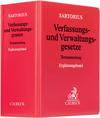 Verfassungs- und Verwaltungsgesetze der Bundesrepublik Deutschland. Ergänzungsband