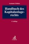 Handbuch des Kapitalanlagerechts