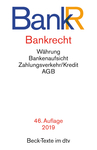 Bankrecht. BankR
