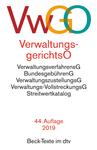 Verwaltungsgerichtsordnung. VwGO / Verwaltungsverfahrensgesetz. VwVfG