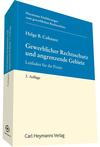 Gewerblicher Rechtsschutz und angrenzende Gebiete