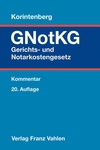 Gerichts- und Notarkostengesetz. GNotKG