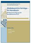 Städtebauliche Verträge - ein Handbuch