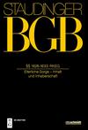 Kommentar zum BGB. Buch 4. Familienrecht: §§ 1626-1633, RKEG
